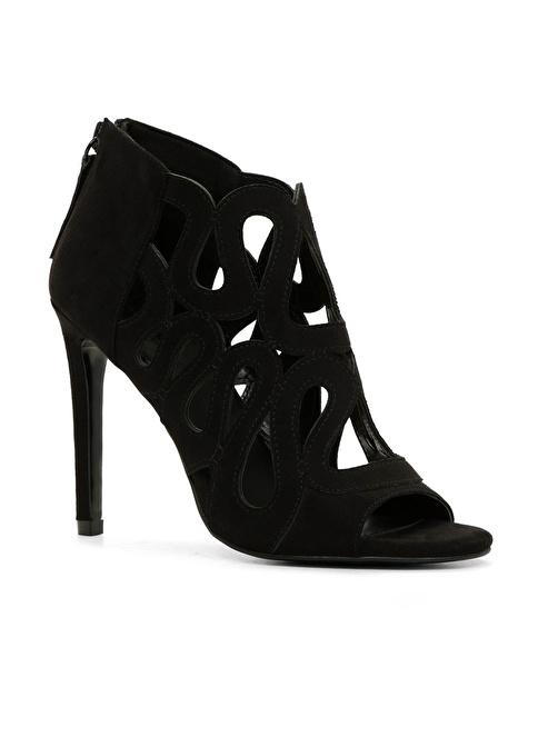 Aldo Fermuar Detaylı İnce Topuklu Ayakkabı Siyah